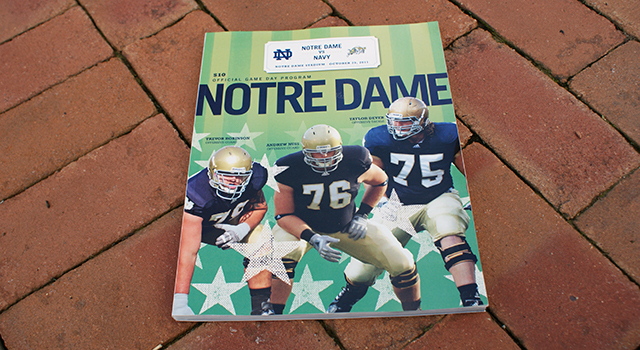 Notre Dame Football Program